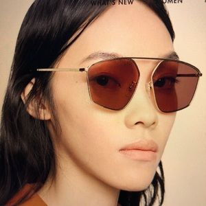 Specialized fit square-frame Gucci sunglasses